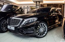 Mercedes Benz S 400 car for sale 2017 in Amman city