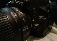 كاميرا نيكون 5100 بحالة جيدة للبيع