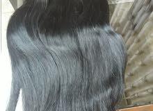 شعر طبيعي 100% طول 80 سم