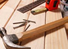 خدمة صيانة نجارة متنقلة