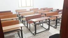 مقاعد دراسية بحاله جيدا جدا