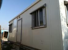 كرفان غرفتين ومطبخ وحمام مستعمل