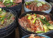 بيع سمك مالح طازج
