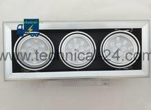 مجموعة متنوعة من الإنارة بأسعار مغرية good price for all types of lights , Spot Light ,Bulbs