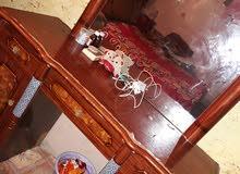 غرفه تركيه ( تركيب ) للبيع بحاله جيده ونظيفه والكنتور 8 ابواب