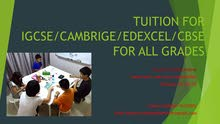 tuition will be taken for all grades and subjects in azaiba