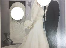 فستان زفاف للبيع أو الايجار