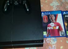 ps4 1tera used for 2 year version 5.5 with update of fifa18 and minecraft
