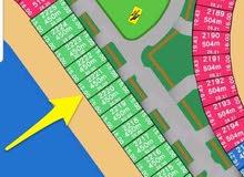 للبيع أرض في صباح الاحمد البحرية بالمرحلة الرابعة B