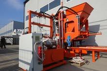 Stationary concrete block making machine 3800 blocks/8h