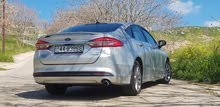 Ford fusion hybrid 2017 فورد فيوجن هايبرد جمرك جديد  كلين فحص كامل ولا ملاحظه