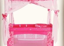 سرير اطفال ب ناموسية