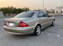 للبيع مرسيدس اس 350 مديل 2005