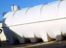 كرفانات + خزانات مياه (تناكي)