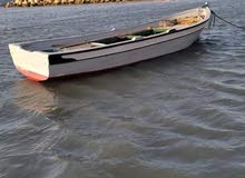 قارب خشبي 7 متر