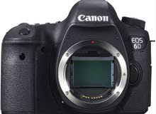 Canon EOS 6D body for sale.