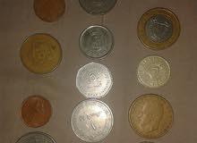 عملات نقدية قديمة عربية واجنبية