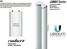 مطلوب سكتر ubnt m2 مستخدم شبه جديد.