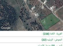 أرض زراعيه مع بيت 70 متر- جرش- الكته- الحداده