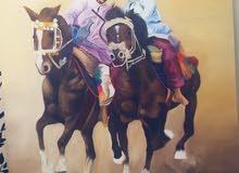 لوحه خيول