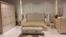 للبيع غرفة نوم جديدة بتصميم عصري و مميز
