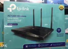 TP-LINK مودم راوتر لاسلكي  VDSL / ADSL  AC1200