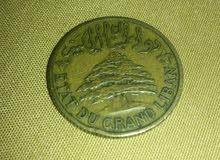 5 غروش 1936 دولة لبنان الكبير5Piastres Etat du grand liban