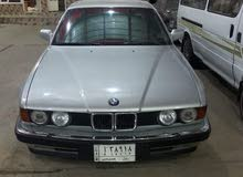 BMW 735 1991 For sale - Silver color