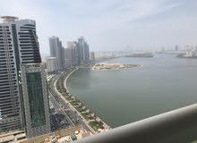 للإيجار 3 غرف وصالتين على بحيرة خالد الشارقة