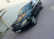 مرسيدس 2001 للبيع أو البدل