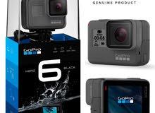 الكاميرا الخارقة GoPro Hero 6 Black 4K ضد الماء