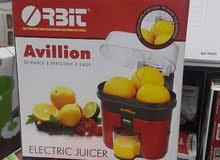 عصارة البرتقال المنزلية كهربائية