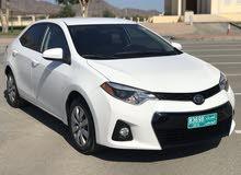 كورلا 2015 نظيف للبيع كاش أو بالاقساط The car for sale cash or installments
