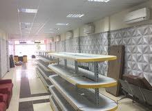 محل تجارى يصلح جميع الأنشطة مجهز وتشطيب سوبر لوكس