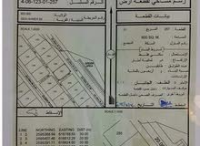 للبيع ارض في ولايه بدبد سيح الأحمر مربع 8 خلف محطه نفط عمان جميع الخدمات متوفره