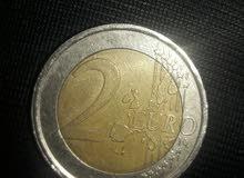 عملة نادرة جداً 2يورو لسنة 2002