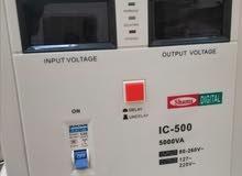 محول ومنظم كهرباء ديجيتال ياباني شغل 110 و220 مقاسات كبيرة