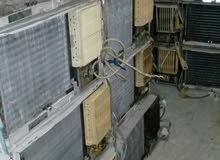للبيع مكيفات شباك جميع الاحجام شامل التوصيل والتركيب مع التوصيل.