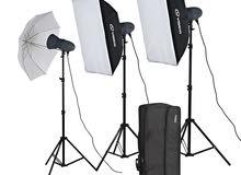 معدات تصوير، جودة عالية جداً.. السعر رخيص.. سبب البيع مستعجل للسفر