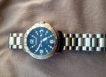 ساعة فوسيل مستعملة استعمال بسيط اصلية 100/100 صناعة أمريكية