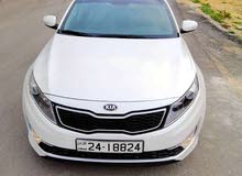 White Kia Optima 2014 for rent