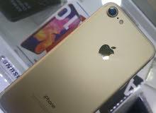 iphone 7 128G لون ذهبي مستعمل بحال الوكال
