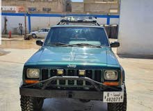 Jeep Cherokee 2000 For sale - Turquoise color