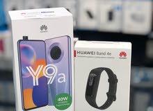 Huawei Y9a + ساعة هواوي اصلي