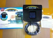 مروحة السيارة بالطاقة الشمسية - Auto Cool Solar Fan