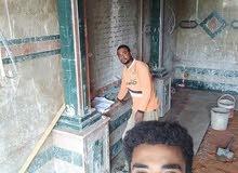 فنيين بلاط وأعمال السيراميك والرخام سودانيين خبرات