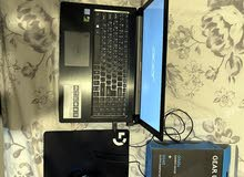 acer aspire 7 gaming laptop with full setup