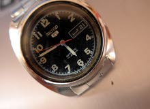 Seiko 5 Automatic 17 Jewels Black Dial Watch