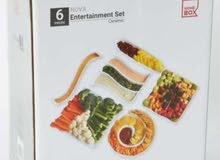 6pcs serving tray set brand new