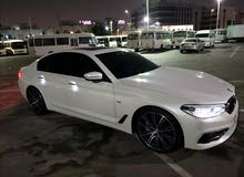 bmw 530i  2017 cleen car for sale  65k  under warranty 150k dh